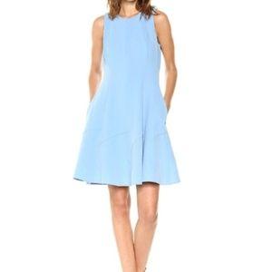 {Anne Klein} Sleeveless Fit & Flare Dress
